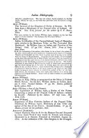 An Essay Towards an Indian Bibliography  Beeing a Catalogue of Books Relating to the American Indians in the Library of Thomas W  Field