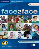 Face2face for Spanish Speakers Pre-intermediate Student's Book with CD-ROM/Audio CD Educación