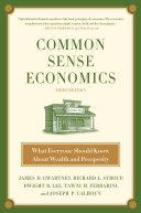 Common Sense Economics Pdf