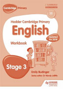 Books - Hodder Cam Primary Eng Wb Stage 3 | ISBN 9781471830990