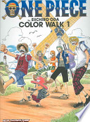 One Piece Color Walk Art Book