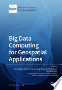 Big Data Computing for Geospatial Applications