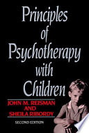 Principles Of Psychotherapy With Children