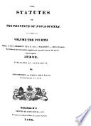 The Statutes at Large: 1827-1835
