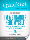 Quicklet on Bill Bryson s I m a Stranger Here Myself  Notes on Returning to America After 20 Years Away