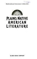 Plains Native American Literature Book