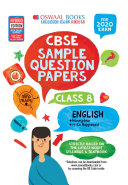 Oswaal CBSE Sample Question Papers Class 8 English  For March 2020 Exam