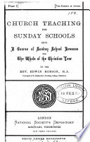 Church teachings for Sunday schools