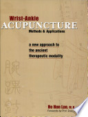 Wrist Ankle Acupuncture Book