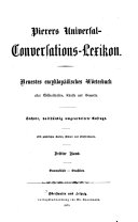 Pierers Universal-Conversations-Lexikon