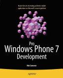 Pro Windows Phone 7 Development