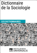 Dictionnaire de la Sociologie