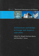 Architecture and Design in Europe and America