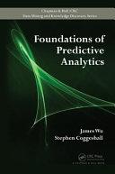 Foundations of Predictive Analytics