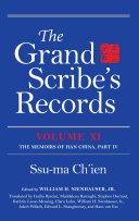 The Grand Scribe s Records  Volume XI