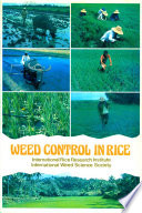 Proceedings of the Conference on Weed Control in Rice, 31 August-4 September 1981