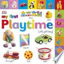 Tabbed Board Books  My First Playtime