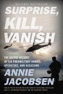 Surprise, Kill, Vanish Book