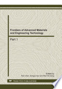Frontiers Of Advanced Materials And Engineering Technology Book PDF