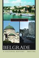 Belgrade A Cultural History Pdf