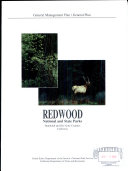 Redwood National and State Parks  Humboldt and Del Norte Counties  California
