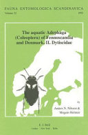 The Aquatic Adephaga (Coleoptera) of the Fennoscandia and Denmark. Ii. Dytiscidae