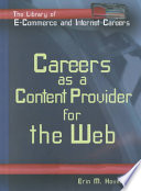 Careers as a Content Provider for the Web