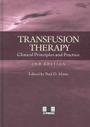 Transfusion Therapy Book PDF
