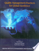 Quality Management Practices for Global Excellence Book