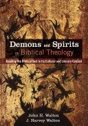 Demons and Spirits in Biblical Theology [Pdf/ePub] eBook