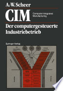 CIM Computer Integrated Manufacturing
