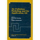 Pdf Air Pollution Modeling and Its Application XII