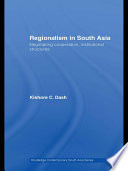 Regionalism In South Asia Book PDF