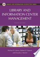 Library and Information Center Management, 8th Edition