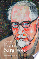 Letters Of Frank Sargeson