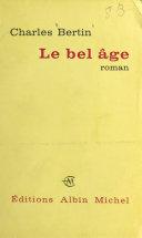 Pdf Le bel âge Telecharger
