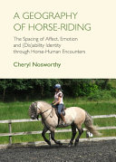 A Geography of Horse Riding