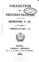Collection des théâtres francais: Tragédies I-III
