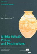 Middle Helladic Pottery and Synchronisms