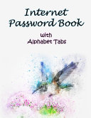 Internet Password Book With Alphabet Tabs