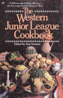 Western Junior League Cookbook