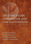 APA Ethics Code Commentary and Case Illustrations