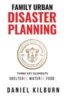 Family Urban Disaster Planning