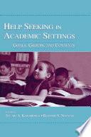 Help Seeking in Academic Settings