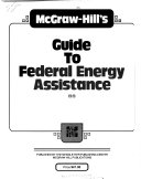 Mcgraw Hill S Guide To Federal Energy Assistance
