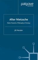 After Nietzsche