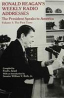 Ronald Reagan s Weekly Radio Addresses  The first term Book