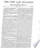 The Corn Law Magazine Of The London Anti Corn Law Society N 1 April 1834