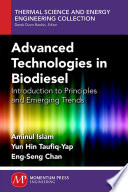 Advanced Technologies In Biodiesel