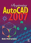 Pdf Beginning AutoCAD 2007
